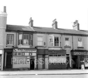 Shops On Bishopton Lane Stockton 1985 Picture Stockton Archive