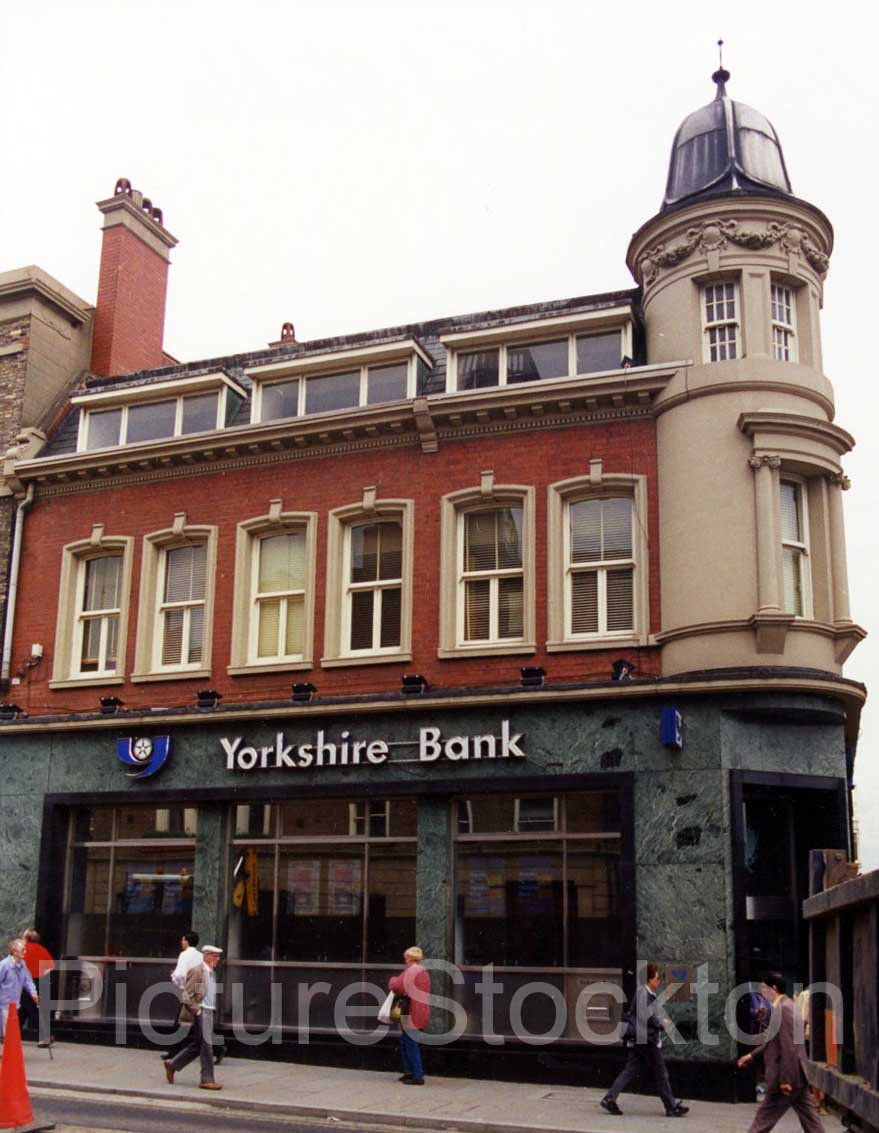 of the Yorkshire bank at