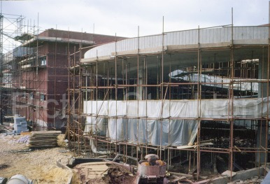 Construction of the spiral ramp